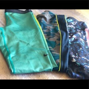 Nike Pro , Gap , Warm Up Bundle leggings !
